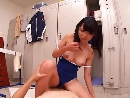 Awesome oriental young chick Ichigo Tominaga featuring hot cosplay mating video