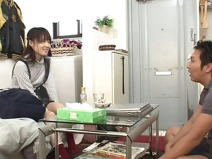 Well done flat chested oriental youthful hooker got orgasm by fingering