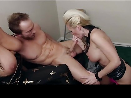 Alena Croft crazy threesome porn video