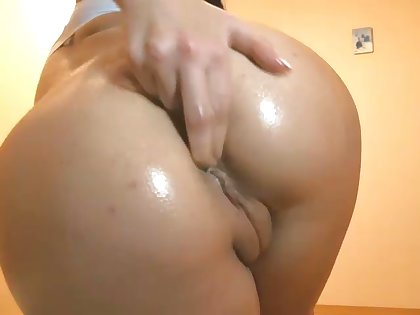 The princess of naughtiness with a nice butt loves masturbating mainly webcam