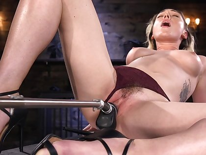 Alone model Lily LaBeau loves playing take the BDSM mating dungeon