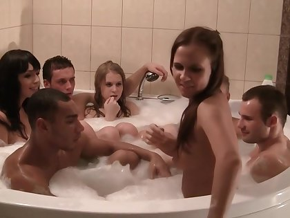 Ssp6704 - Corporate Group Orgy Upon A