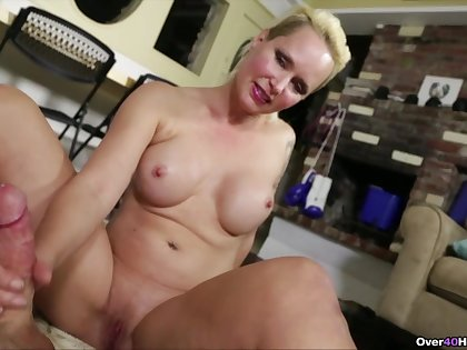Finest moments of handjob on tap home with a fine amateur of age