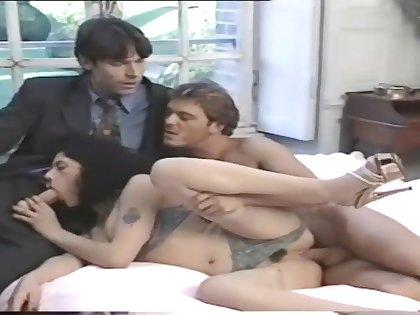 Comely pornstars appears in crazy retro porn video